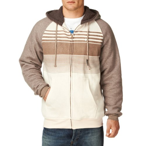 BILLABONG Balance Sherpa Sweatshirt Homme Clay Heather FR : S (Taille Fabricant : S)