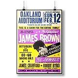 INNOGLEN Poster James Brown Oakland Auditorium A0 A1 A2 A3