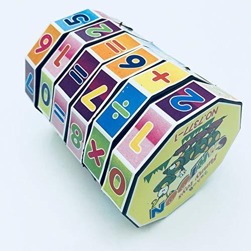Cubo de Rubik Digital Juguete Educativo Cilíndrico Cubo Rubik Cubo Mágico Colorido Cilindro Rompecabezas de Matemáticas Aprendizaje Temprano Educativo Niños Juguete