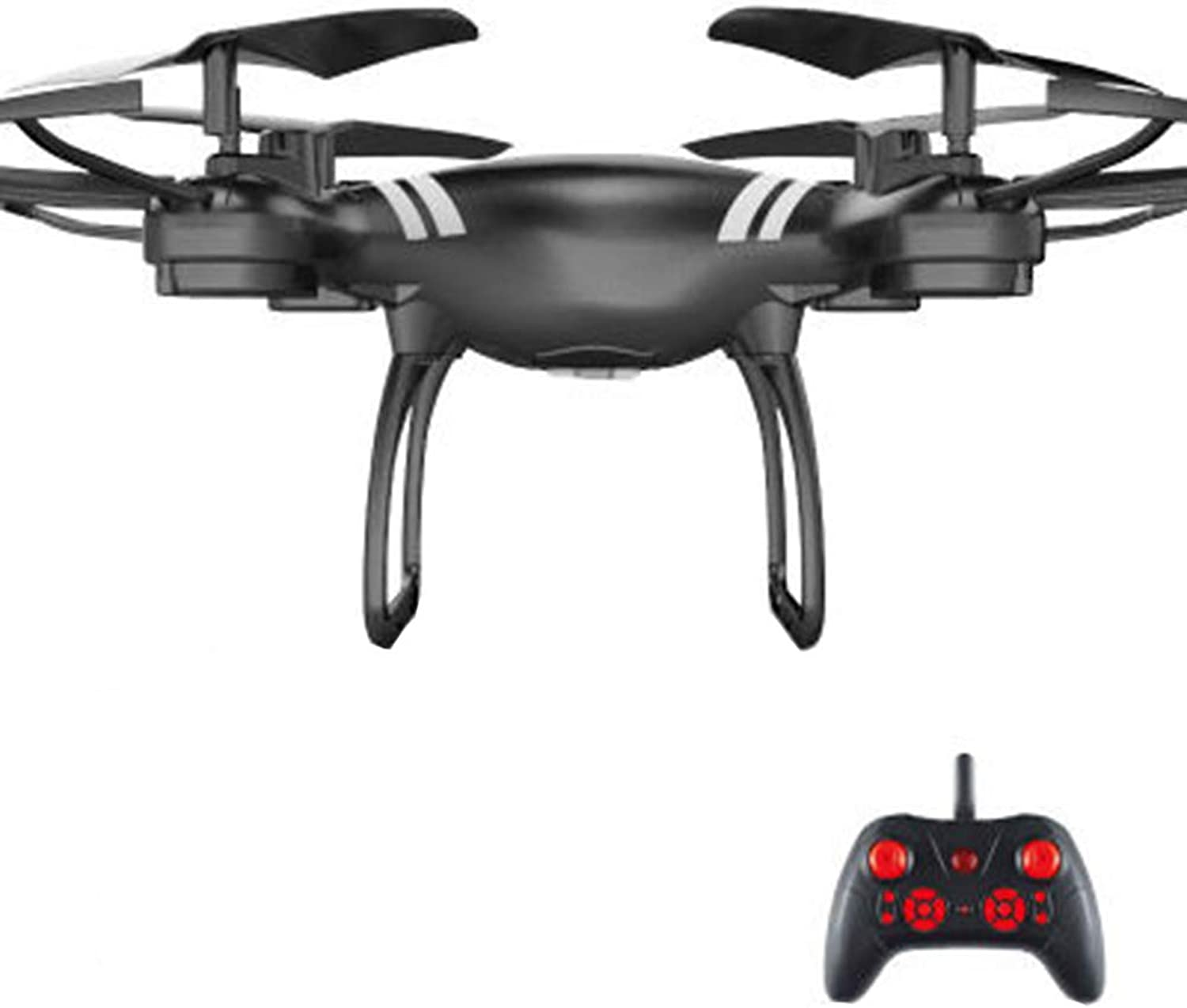 JEFFZH FPV Drone with WiFi,Best Drone for Beginners with Altitude Hold,Gravity sensing control, GSensor, Trajectory Flight, 3D Flips, Headless Mode, One Key Operation, 2 Batteries, Black