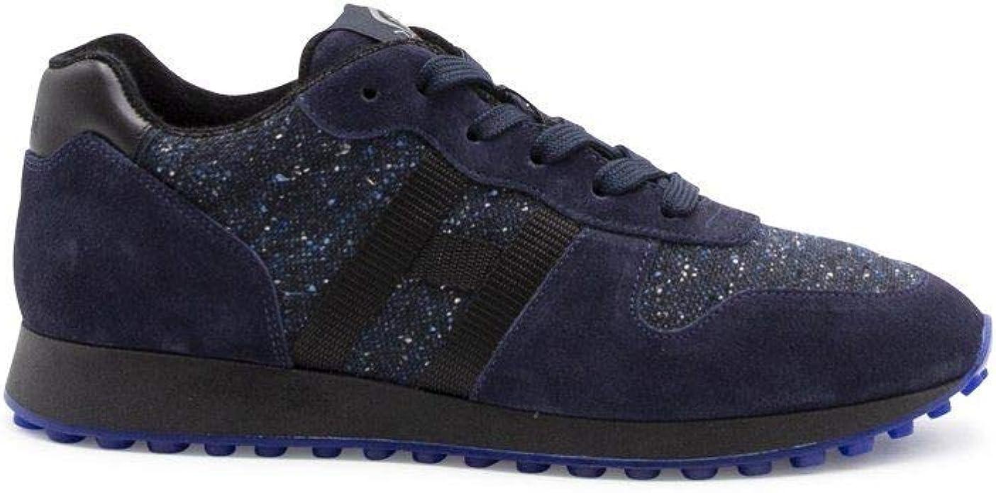 Hogan Luxury Fashion Uomo HXM4290AN51OCK2ABB Blu Camoscio Sneakers ...