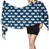 Bufanda de mantón Mujer Chales para, Nicaragua Love Bufanda cálida de invierno para mujer Moda larga, grande, suave, chal de cachemira, bufandas envueltas