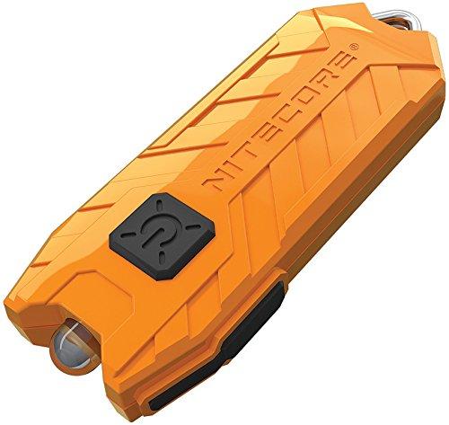 Nitecore Tube orange - Schlüsselanhängerleuchte, 45 Lumen, über USB aufladbar