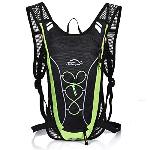 CMZ Backpack Cycling Backpack Backpack Men and Women Outdoor Backpack Marathon Backpack Outdoor Hiking Water Bag