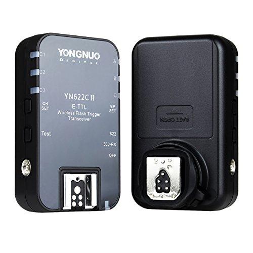YONGNUO YN622CII Disparador Transceptor Inalámbrico E-TTL para Flash de Cámara Digital Canon