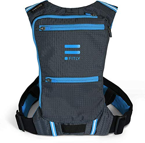 Fitly Minimalist Running Pack (Blue, M-L-XL)
