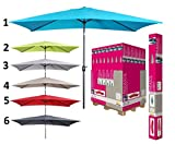 les colis noirs lcn Parasol Rectangle Inclinable 2x3m - Mod2 Anis -...