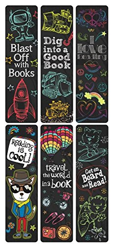Raymond Geddes Reading Rocks! Incentive Bookmarks (70036)