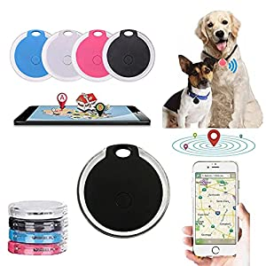 Flexmus 4 PCS Pet Cat Dog GPS Tracker Collar Accessories Locator Dog Finder with Remote Selfie No Monthly Fee APP Activities Routes Tracking Collar Device Waterproof Monitor for Dogs and Cats