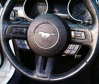 mustang steering wheel cover