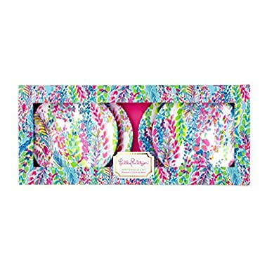 Lilly Pulitzer Appetizer Plates - Catch The Wave