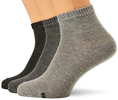 Skechers Socks Herren SK42004 Füßlinge, Grau (Light Grey Melange 9300), (Herstellergröße: 39/42) (3er Pack)