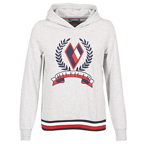 Tommy Hilfiger Womens Tate Heart C-NK Sweatshirt LS Grau Sweatshirts XL