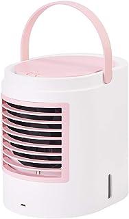 Ventilador de aire acondicionado Pequeño refrigerante más Enfriador de Hielo Mini Aire Acondicionado móvil portátil, Ventilador de enfriamiento Integrado con Ventilador, humidificador de purificació
