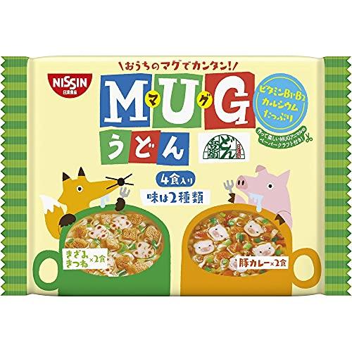 日清食品 マグうどん 4食パック 94g×12パック