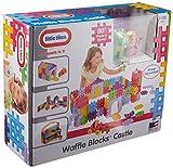Little Tikes Waffle Blocks Castle 80pieza(s) - Bloques de construcción de juguete (Multicolor, 80 pieza(s), Monótono, 2 año(s), CE, 406,4 mm) , color/modelo surtido