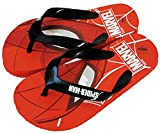 Chanclas Spiderman Marvel para Playa o Piscina - Flip-Flop Spiderman Marvel para niños (Rojo, numeric_28)