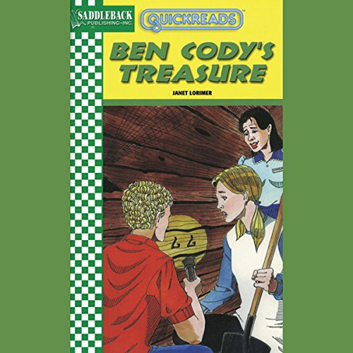Ben Cody's Treasure audiobook cover art