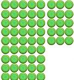 Justfund 50pcs Green Kids Toy Gun Bullet Darts Round...
