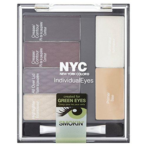 NYC individuele ogen oogschaduw, beste van Broadway Green Eyes