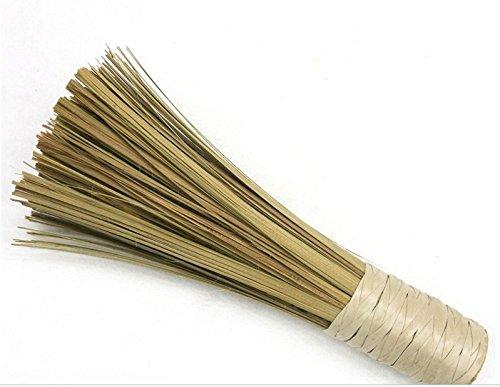 Tfxwerws 1 PC Confort Bambou Long manche de nettoyage Fouet Pot Brosse