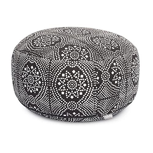Bodhi Meditationskissen Rondo mit Baumwoll-Bezug (Köper) abnehmbar,...