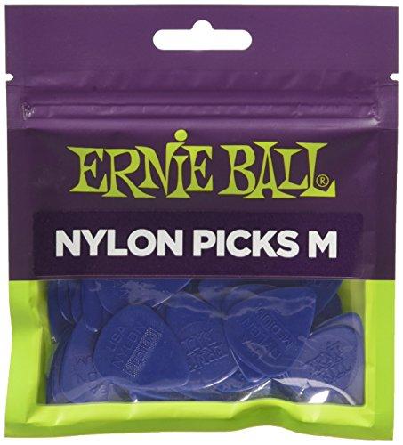 【正規品】 ERNIEBALL ピック ナイロン ピック 50枚セット ミディアム #9131