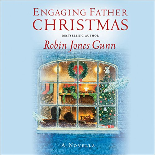 Engaging Father Christmas audiobook cover art
