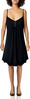 Viracy Women's Summer Spaghetti Strap V Neck Knee Length Flowy Cami Dress
