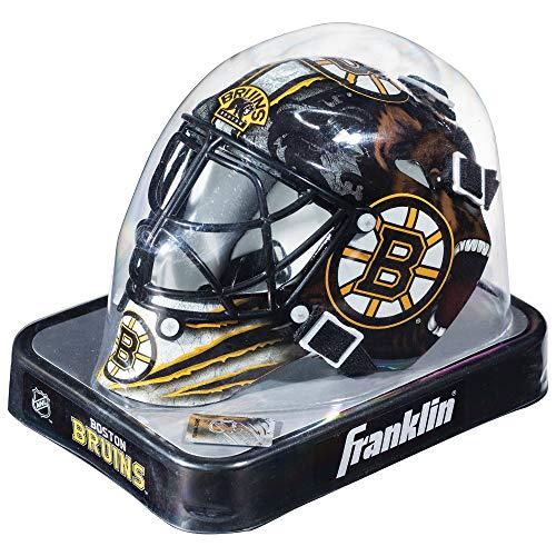 Franklin Sports Eishockey-Sammelartikel Torwart-Helm Mini, Design: Logo Einer NHL-Mannschaft, Unisex, 7784F03, Boston Bruins, Einheitsgröße