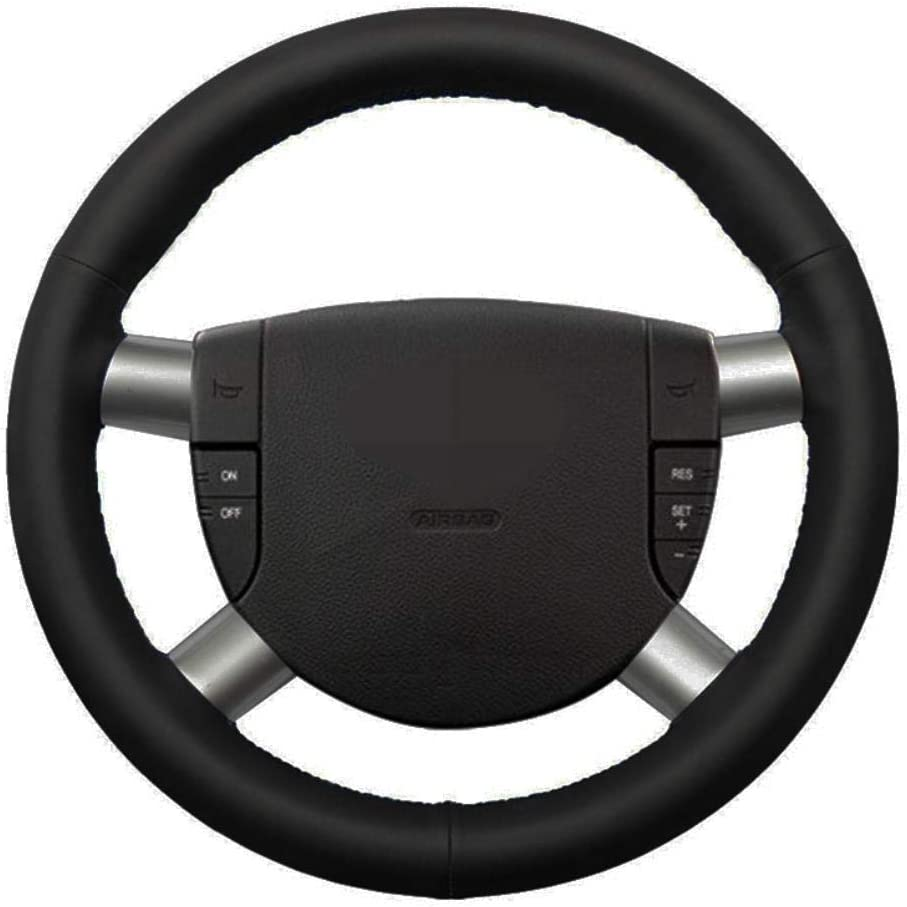 Max 88% OFF MDHANBK DIY Hand-Stitched Car Fresno Mall Steering N Cover Accessories Wheel