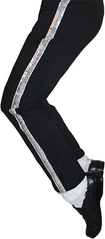 Michael Billie Jean Pants Classic Max 46% OFF Selling rankings Straight Jackson Stripe Silver