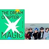 TXT The Dream Chapter : Magic Album PreOrder (Sanctuary Version) CD+Poster+Photobook+Photocard+Student ID Pad+Sticker Pack+Viewer Glasses+Gift (Extra 4 Photocards Set)