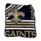 logobrands New Orleans Saints 50'' x 60'' Plush Raschel Throw