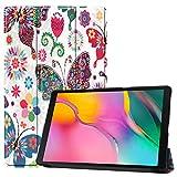 Fmway Étui Housse Coque pour Samsung Galaxy Tab A 10.1 T510/T515 Tablette 2019 avec Support
