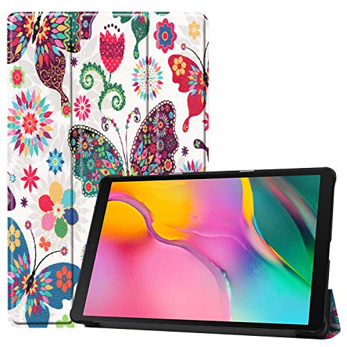 Fmway Funda Carcasa para Samsung Galaxy Tab A 10.1 T510/T515 2019 con Soporte Función