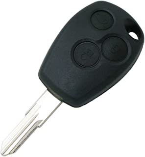 SEGADEN Replacement Key Shell fit for RENAULT Clio DACIA Sandero Logan 3 Button Keyless Entry Remote Key Case Fob PG351B