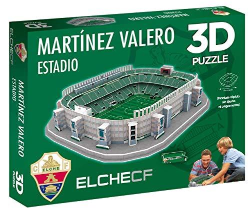 Eleven Force Puzzle 3D Estadio Martínez Valero (Producto Oficial Elche CF) (98 Piezas Aprox.)