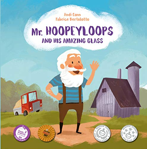 Mr. Hoopeyloops and His Amazing Glass: A Discover Great Art Book for Kids (Explore Glass Artists 1) by [Andi Cann, Fabrice Bertolotto]