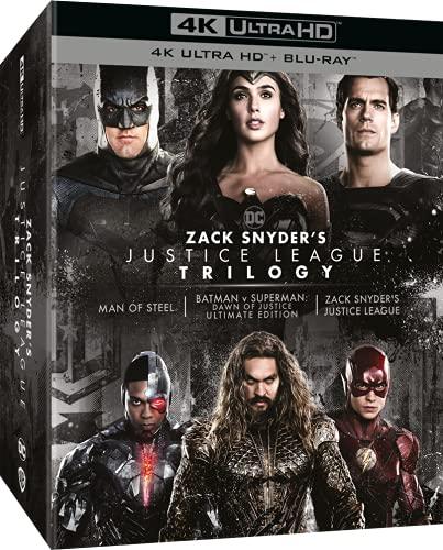 Zack Snyder's Justice League Trilogy (4K Ultra HD + Blu-Ray) (8 Blu Ray)