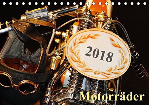 Motorräder (Tischkalender 2018 DIN A5 quer): Custombikes (Monatskalender, 14 Seiten ) (CALVENDO Mobilitaet) [Kalender] [Apr 01, 2017] kauss www.kult-fotos.de, kornelia