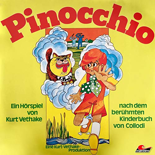Pinocchio  By  cover art