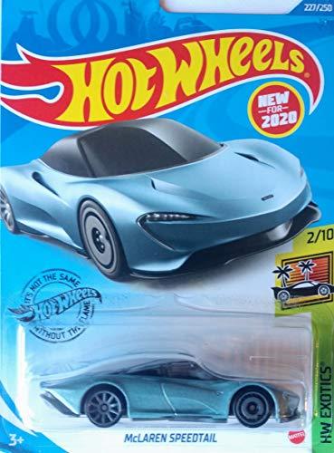 Hot Wheels McLaren 5 Car Bundle Set Version 3 Includes McLaren P1 McLaren Senna McLaren 720s Zamac Exclusive Kansas