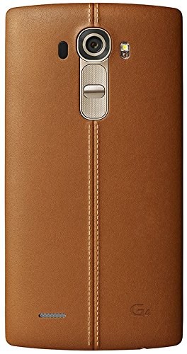 LG G4 Smartphone 14 cm (5,5 Zoll) (Touch-Display, 32 GB Speicher, Android 6) braune Lederversion