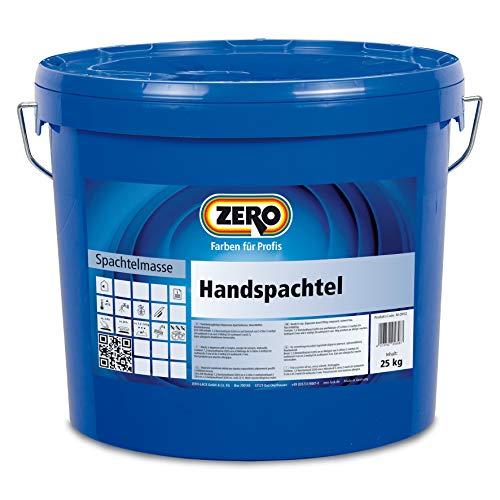 ZERO Handspachtel weiß Spachtelmasse Innenspachtel auf mineralischer Basis 25kg