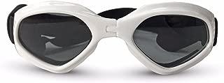 PETCUTE Gafas de Sol para Perros Gafas Protectoras para Mascotas doggles para Perros Pequeño y Mediano Gafas de Sol Plegable para Perros