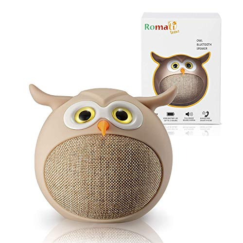 Small Bluetooth Rechargeable Wireless Speakers- Compact Portable Bluetooth Speakerfor Any Device with Bluetooth - Tiny Speaker for Kids, Girls and Boys, Teenagers - Loud and Clear Audio Speakers