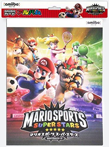 Estuche para álbum de fotos de amiibo tarjeta Mario Sports Super Stars Japón Maxgames