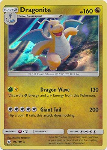 Dragonite - 96/149 - Holo Rare - Pokemon Sun & Moon