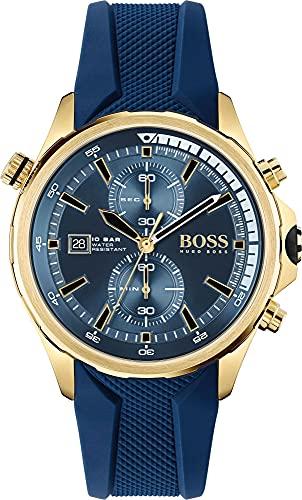 Hugo BOSS Reloj Cosa análoga para de los Hombres de Cuarzo con Correa en Silicona 1513822